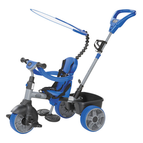 Little Tikes Trike 4-in-1 Basic Edition - Blue