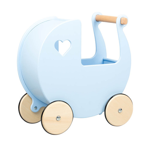 Moover Toys Dolls Pram - Light Blue