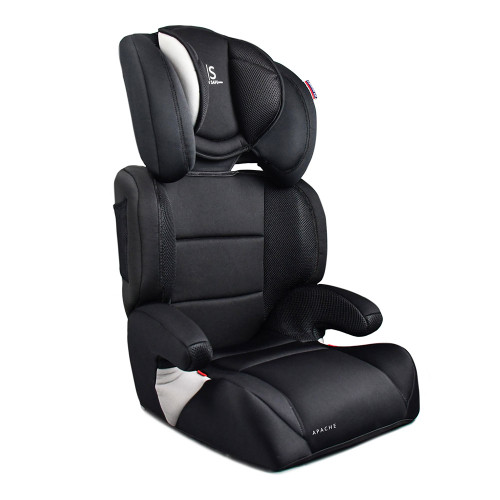 Cozy N Safe Apache Group 2/3 Car Seat - Black/Grey