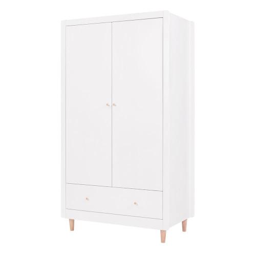 Tutti Bambini Siena Wardrobe - White / Beech