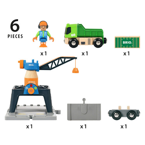 Brio Smart Tech - Container Crane - elements