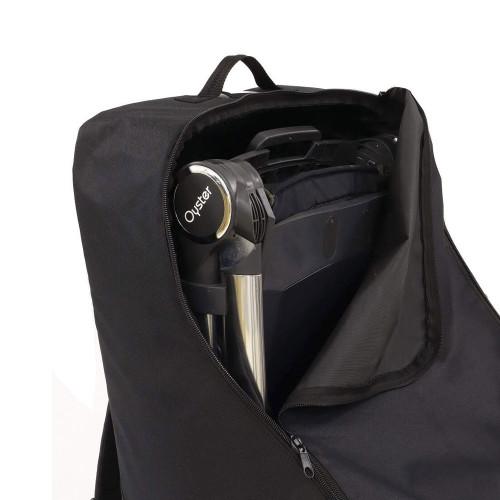 Babystyle Egg Travel Bag - Black - opening