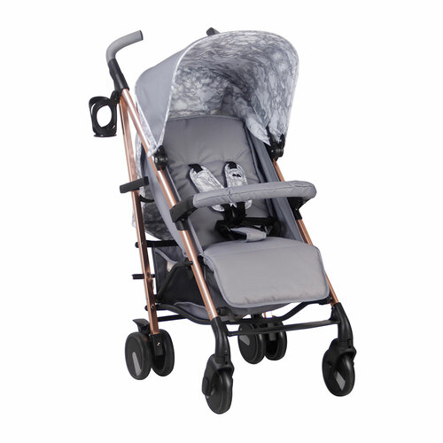 My Babiie MB51 Pushchair - Samantha Faiers/Rose Gold & Grey Marble