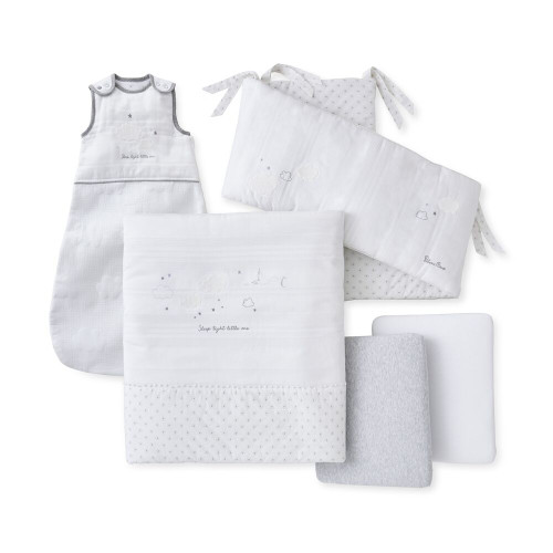Silver Cross 5-Piece Sleep Tight Bedding Set - Hello Little One