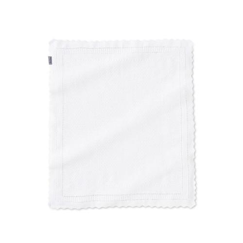Silver Cross White Blanket - Hello Little One