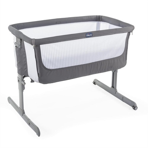 Chicco Next 2 Me Air Side-Sleeping Crib - Dark Grey