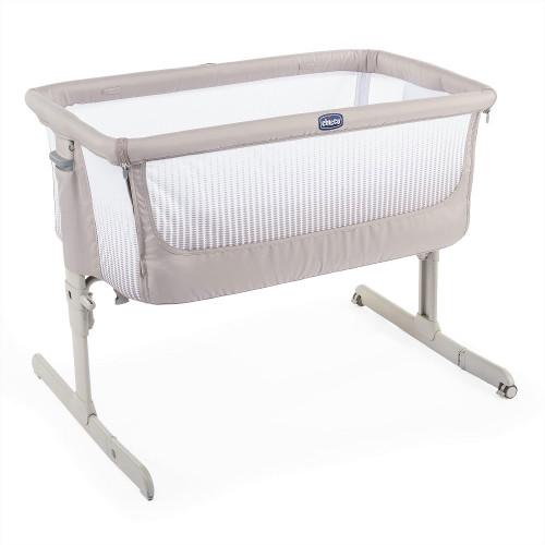 Chicco Next 2 Me Air Side-Sleeping Crib - Dark Beige