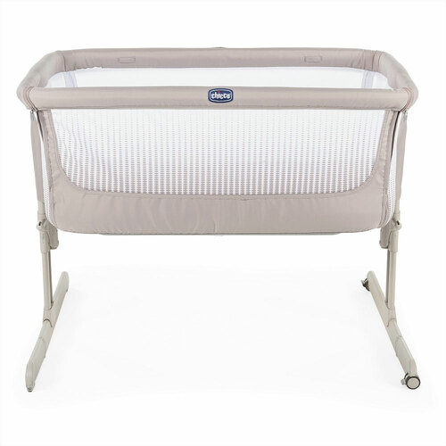 Chicco Next 2 Me Air Side-Sleeping Crib - Dark Beige (front)