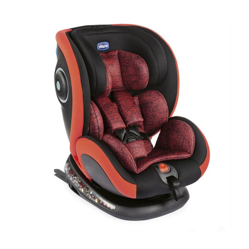 Chicco Seat 4 Fix Group 0+/1/2/3 Car Seat - Poppy Red