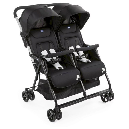 Chicco Ohlala Twin Stroller - Black Night