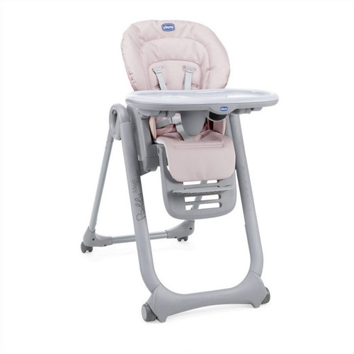 Chicco Polly Magic Relax Highchair - Paradise Pink (with tray)