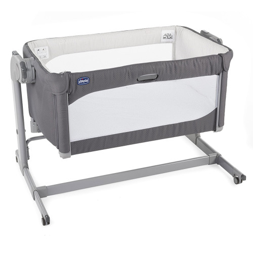 Chicco Next 2 Me Magic Side Sleeping Crib - Moon Grey