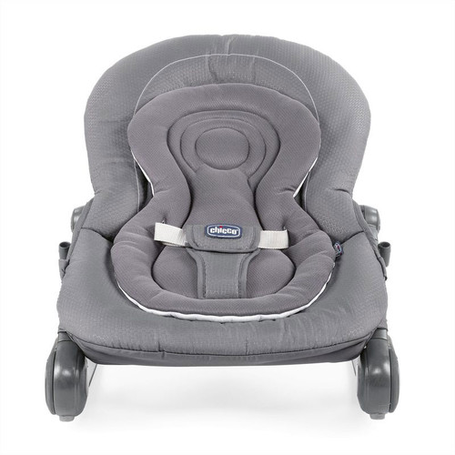 Chicco Hoopla Bouncer - Moon Grey (front)
