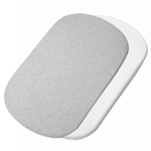 Maxi Cosi Iora Bedsheet 2pk - White/Grey