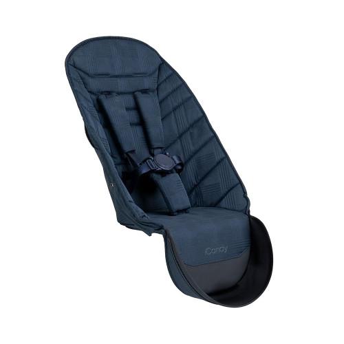 iCandy Peach 2nd Seat Fabric & Bumper Bar - Navy Check