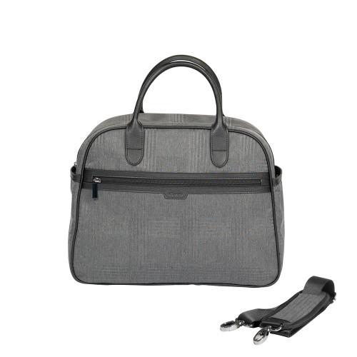 iCandy Peach Bag - Dark Grey Check