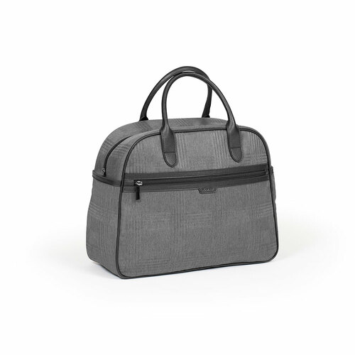 iCandy Peach Bag - Dark Grey Check (solo)