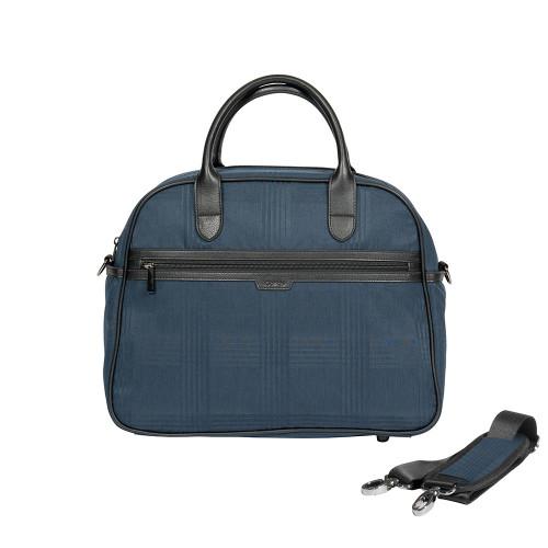 iCandy Peach Bag - Navy Check