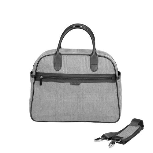 iCandy Peach Bag - Light Grey Check