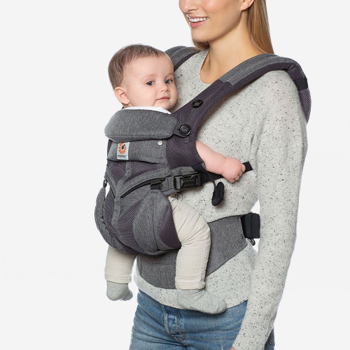 Ergobaby Omni 360 Cool Mesh - Classic Weave (parent-facing)