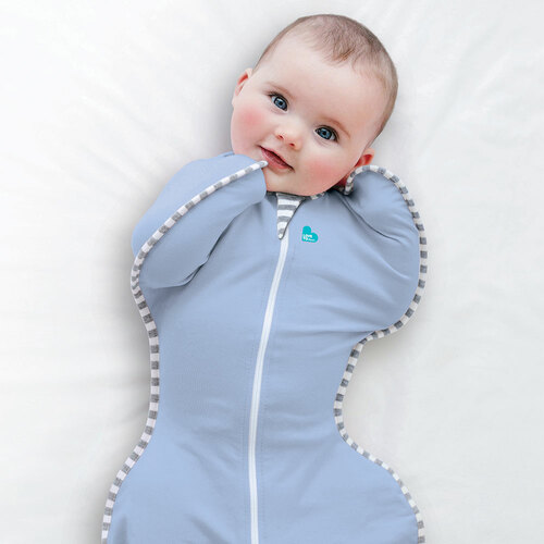Love To Dream Swaddle UP Original 1.0 TOG / M / Blue (lifestyle)