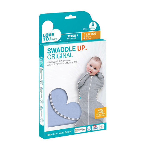 Love To Dream Swaddle UP Original 1.0 TOG / S / Blue (box)