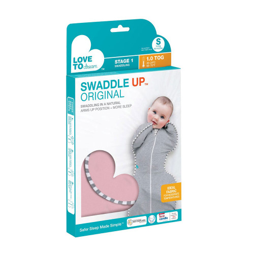 Love To Dream Swaddle UP Original 1.0 TOG / S / Pink (box)