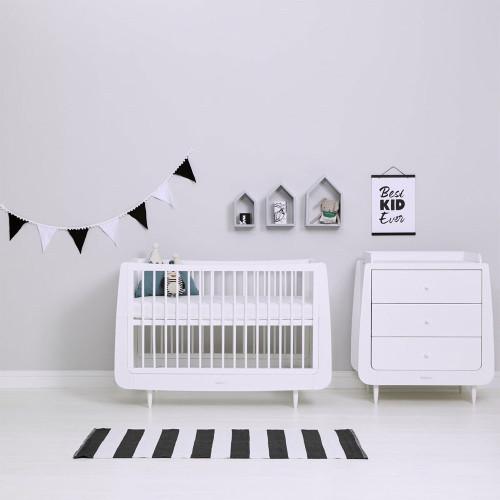 Snuz Nursery Bunting - Black & White