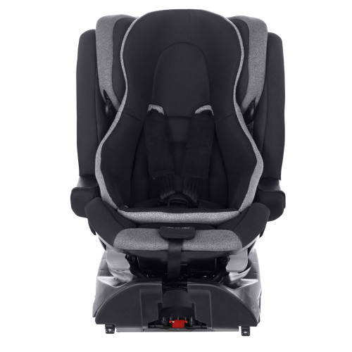 Jane Groowy i-Size Car Seat - Jet Black (front with reverted insert)