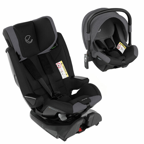Jane Groowy + Nest i-Size Car Seat - Jet Black