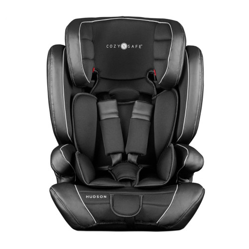 Cozy N Safe Hudson Group 1/2/3 Child Car Seat - Black (front)