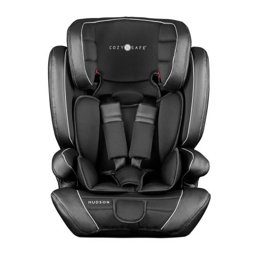 Cozy N Safe Hudson Group 1/2/3 Child Car Seat - Black (front)