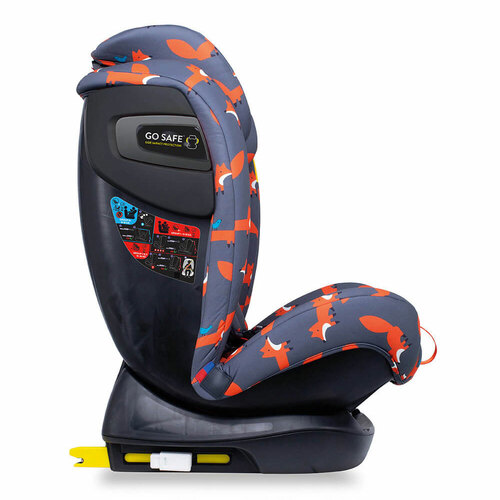 Cosatto All in All+ Car Seat - Charcoal Mister Fox