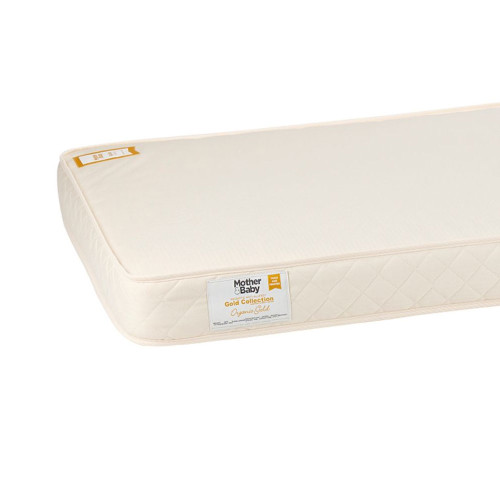 Mother&Baby Chemical Free Cot Bed Mattress - Cream + FREE Blanket