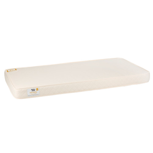 Mother&Baby Organic Gold Chemical Free Cot Bed Mattress - Cream