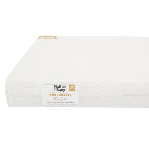 Mother&Baby Anti Allergy Foam Cot Bed Mattress - White + FREE Blanket