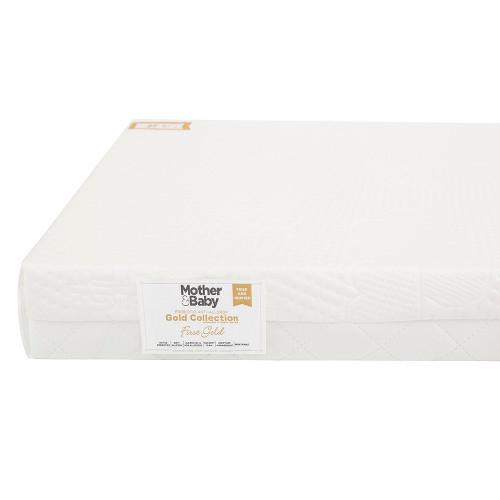 Mother&Baby Anti Allergy Foam Cot Mattress - White + FREE Blanket
