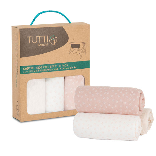 Tutti Bambini CoZee Starter Pack - Pink/Rose
