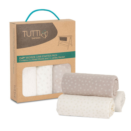 Tutti Bambini CoZee Starter Pack - Neutral/Pebble