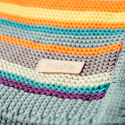 Tutti Bambini CoZee Knitted Blanket - Multicolour