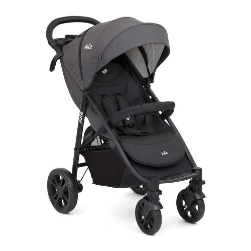 Joie Litetrax 4 Wheel Stroller - Coal