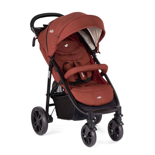 Joie Litetrax 4 Wheel Stroller - Cinnamon