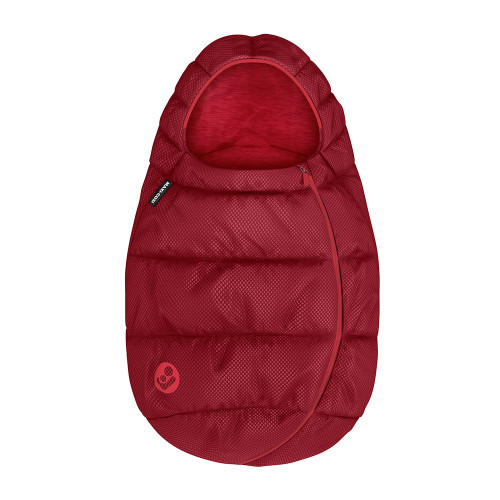 Maxi Cosi Infant Carrier Footmuff - Essential Red