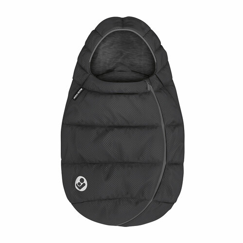 Maxi Cosi Infant Carrier Footmuff - Essential Black