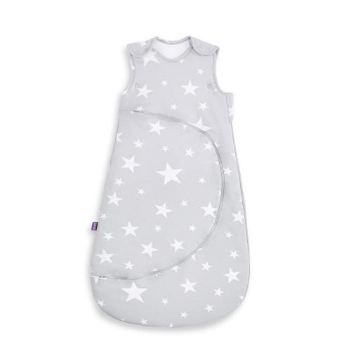 SnuzPouch Sleeping Bag 0-6m 1.0 Tog - White Stars