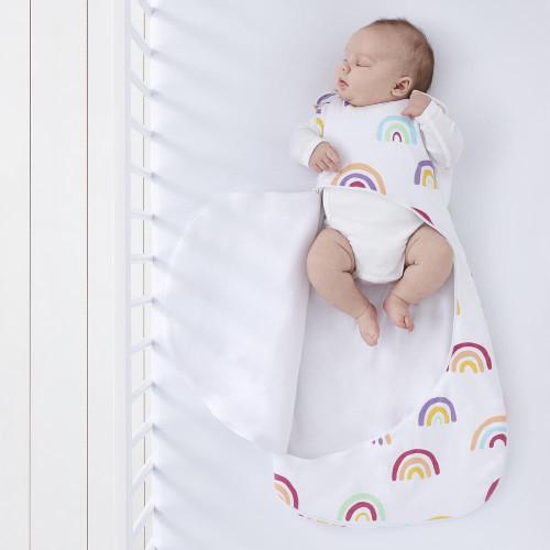 SnuzPouch Sleeping Bag 0-6m 1.0 Tog - Colour Rainbow