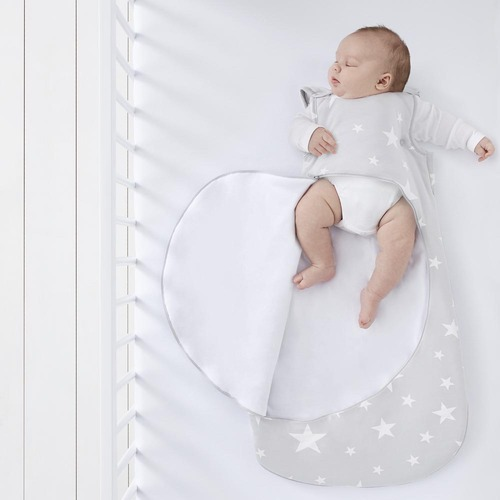SnuzPouch Sleeping Bag 0-6m 2.5 Tog - White Stars