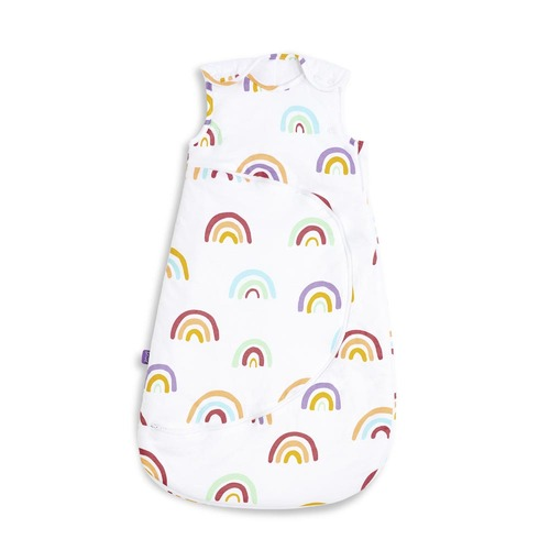SnuzPouch Sleeping Bag 0-6m 2.5 Tog - Colour Rainbow