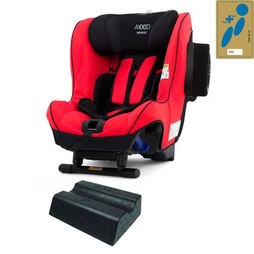 Axkid Minikid 2.0 Car Seat + FREE Angle Adjusting Wedge - Shellfish