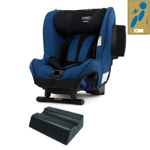 Axkid Minikid 2.0 Car Seat + FREE Angle Adjusting Wedge - Sea